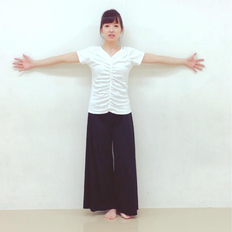 片足立ちトレーニング1