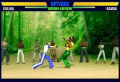 カポエイラのオンラインゲーム「Capoeira Fighter」