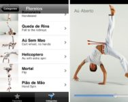 beautiful capoeira iPhone app