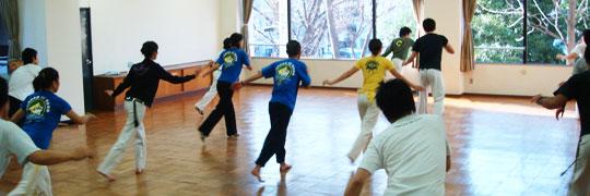 カポエイラ教室 東京の体験レッスン