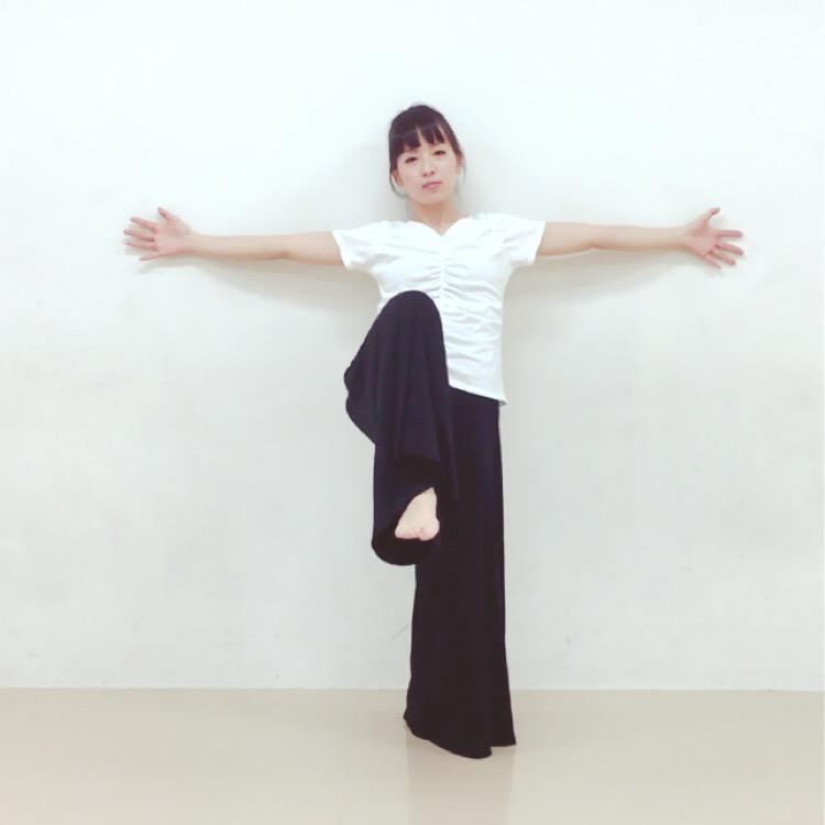 片足立ちトレーニング3