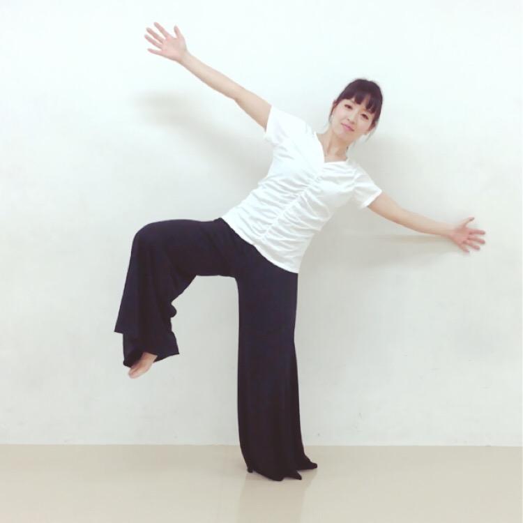 片足立ちトレーニング2