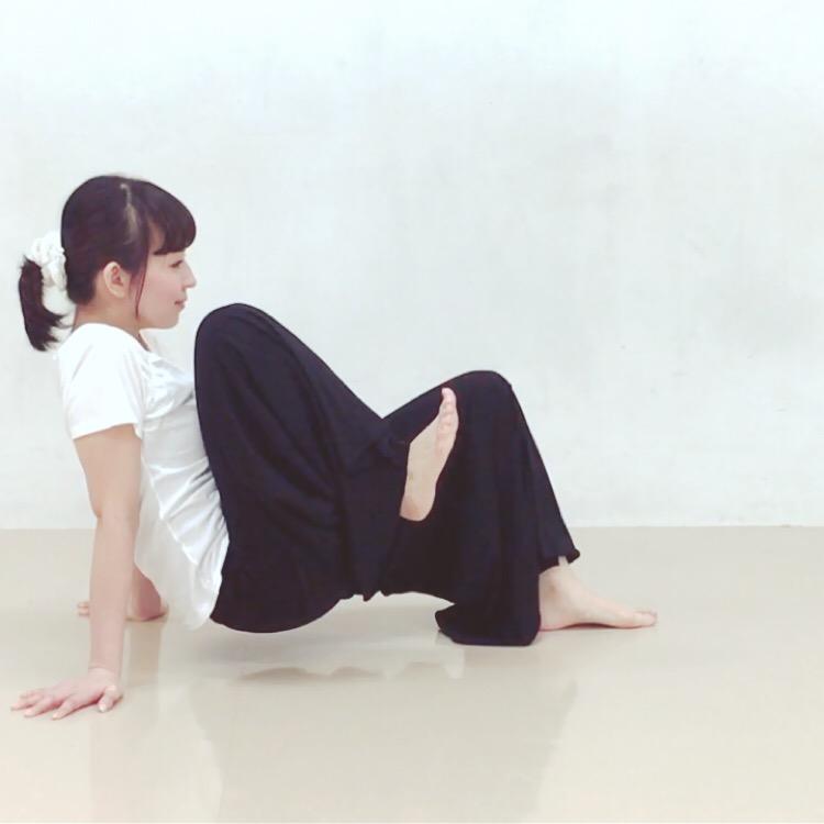 二の腕腹筋エクササイズ2