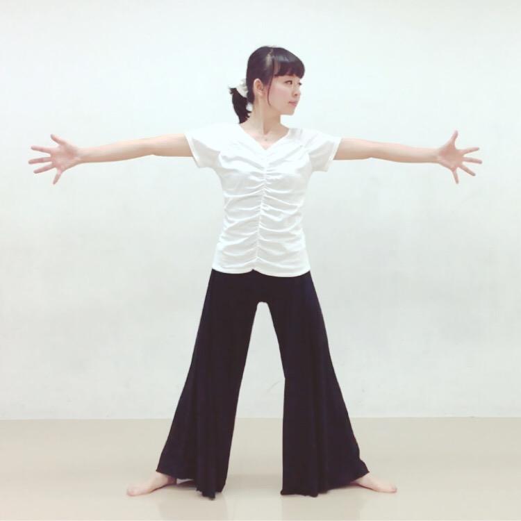 腰ツイストエクササイズのやり方1